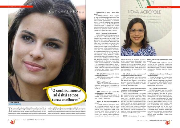 entrevista rayanne