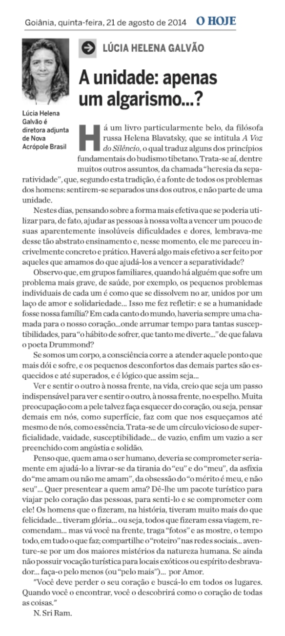Jornal O Hoje