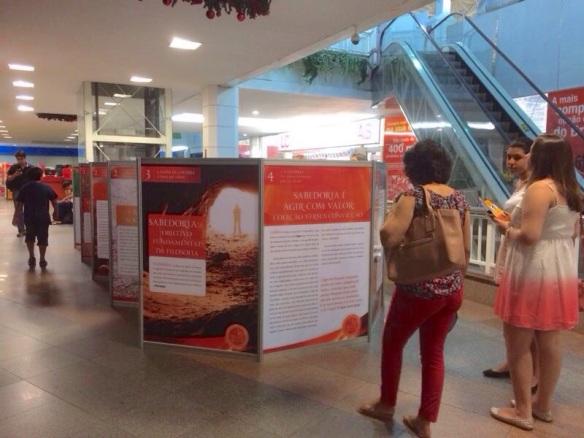 Exposição no Shopping Benfica